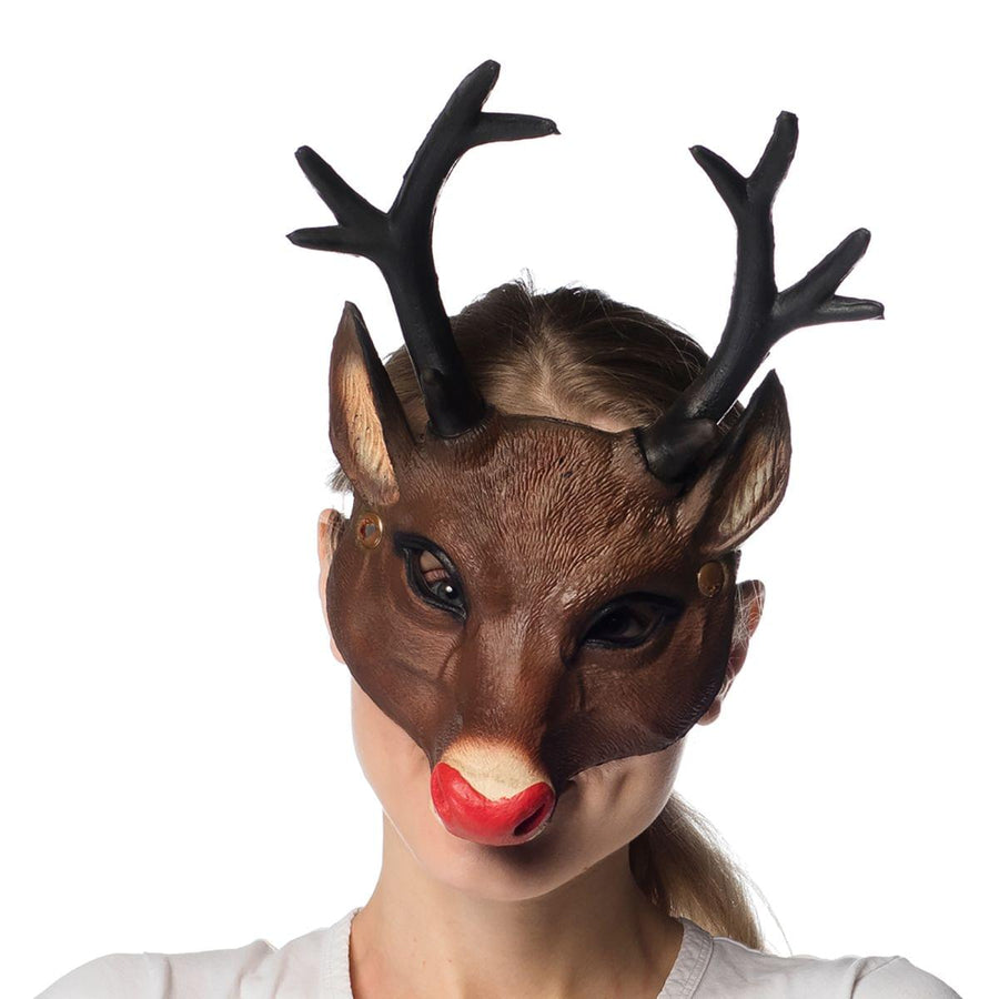 Supersoft Reindeer Adult Costume Mask