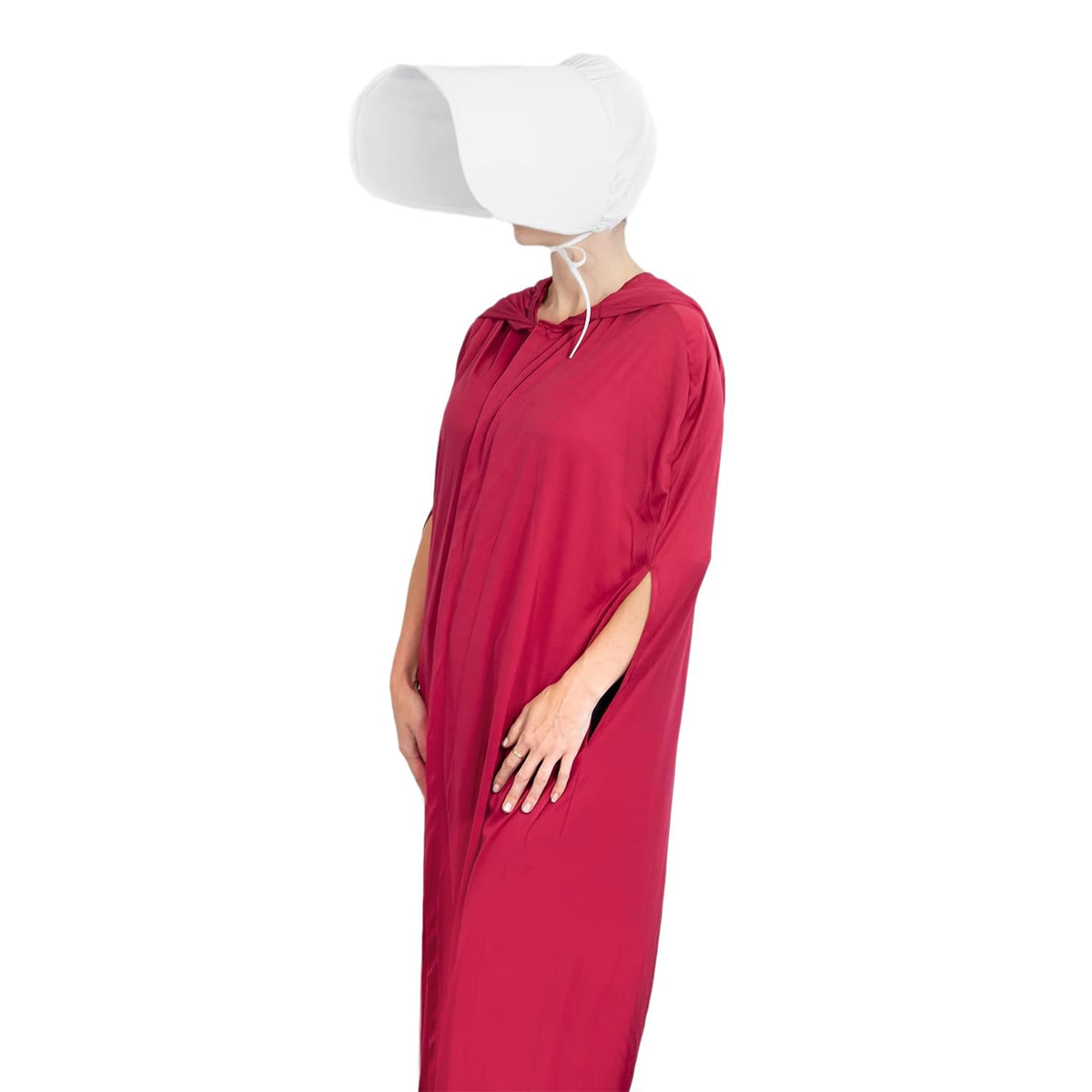 The Handmaid's Tale Authentic Robe & Hat Costume | Perfect Outfit For Cosplay