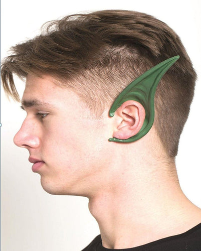 Cosplay Flexi Ears Costume Accessory Long Demon Green