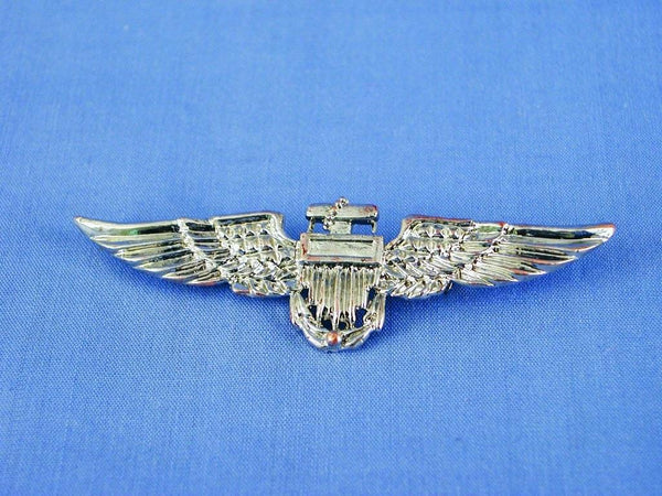 Aviator Pilot Costume Accessory Pin - Silver
