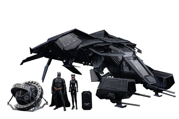 Dark Knight Rises 1/12 Scale The Bat Deluxe Collectible Set by Hot Toys