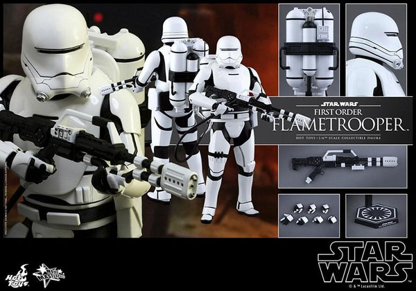 Star Wars First Order Flametrooper 1:6 Scale Collectible Figure