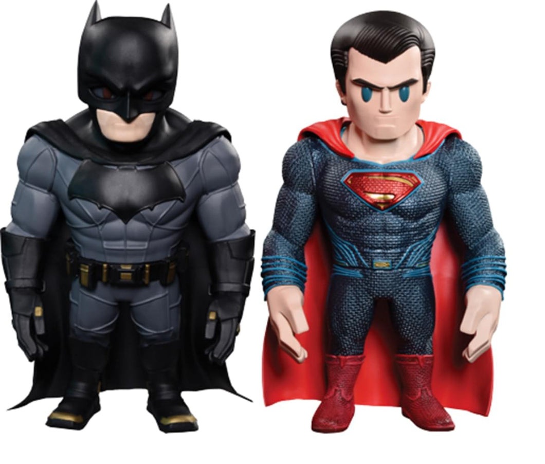 Hot Toys Dawn of Justice Batman & Superman Artist Mix Bobble Head Set