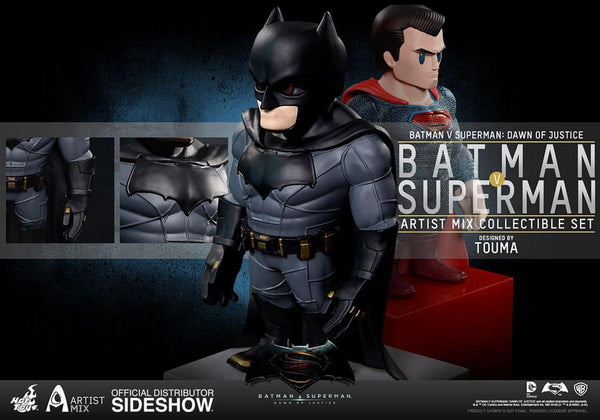 "Batman v Superman: Dawn of Justice Batman & Superman 6"" Bobblehead Artist Mix Figures"