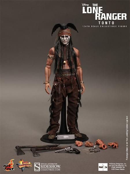 Hot Toys The Lone Ranger Tonto 1:6 Collectible Figure
