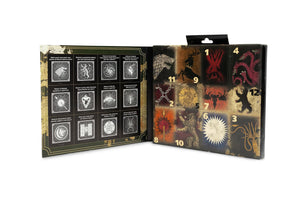 Game of Thrones 12 Days of Socks Gift Set for Men & Women - 6 Crew | 6 Ankle