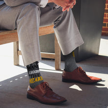 Load image into Gallery viewer, OFFICIAL Harry Potter Socks | The Wand Chooses the Wizard | Adult Crew Socks