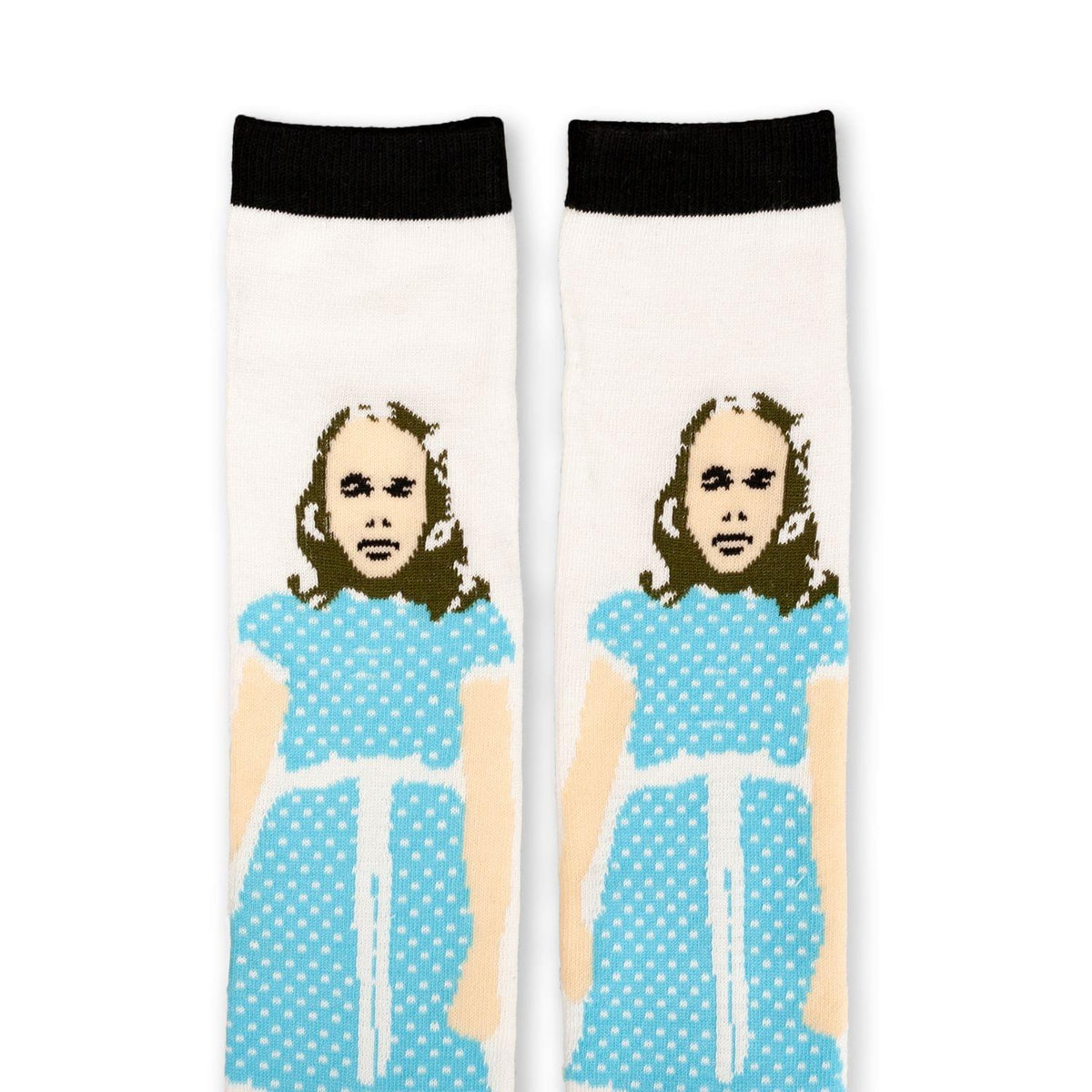 The Shining Collectibles | The Shining Exclusive Grady Twins White Crew Socks