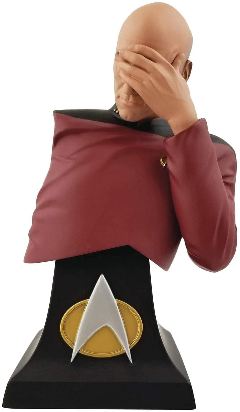 Star Trek: TNG Exclusive Picard Facepalm 8 Inch Polystone Bust