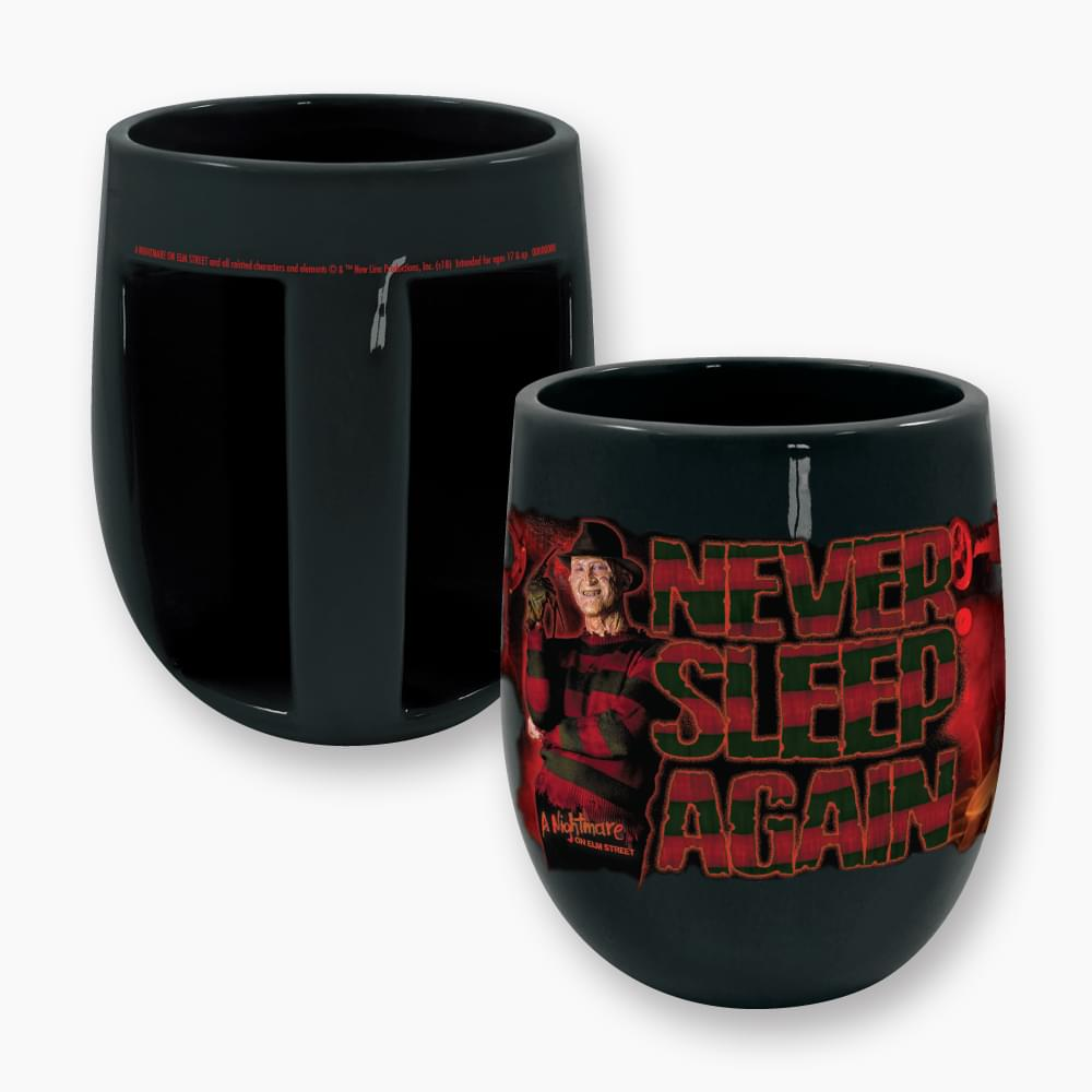 Nightmare on Elm St. Never Sleep Again Inverted Handle Mug
