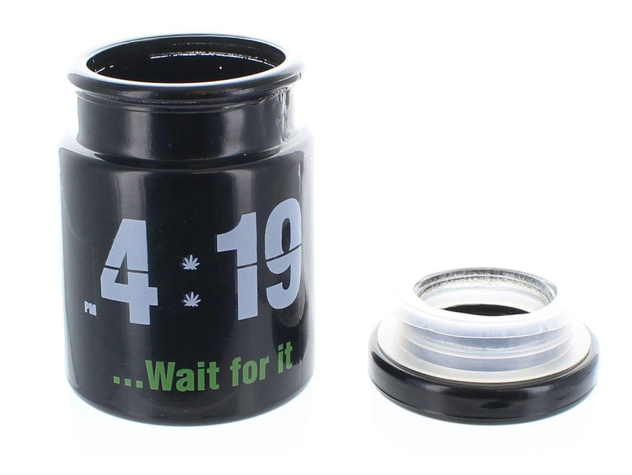 """4:19 ...Wait For It"" 5 oz. Stash Jar"