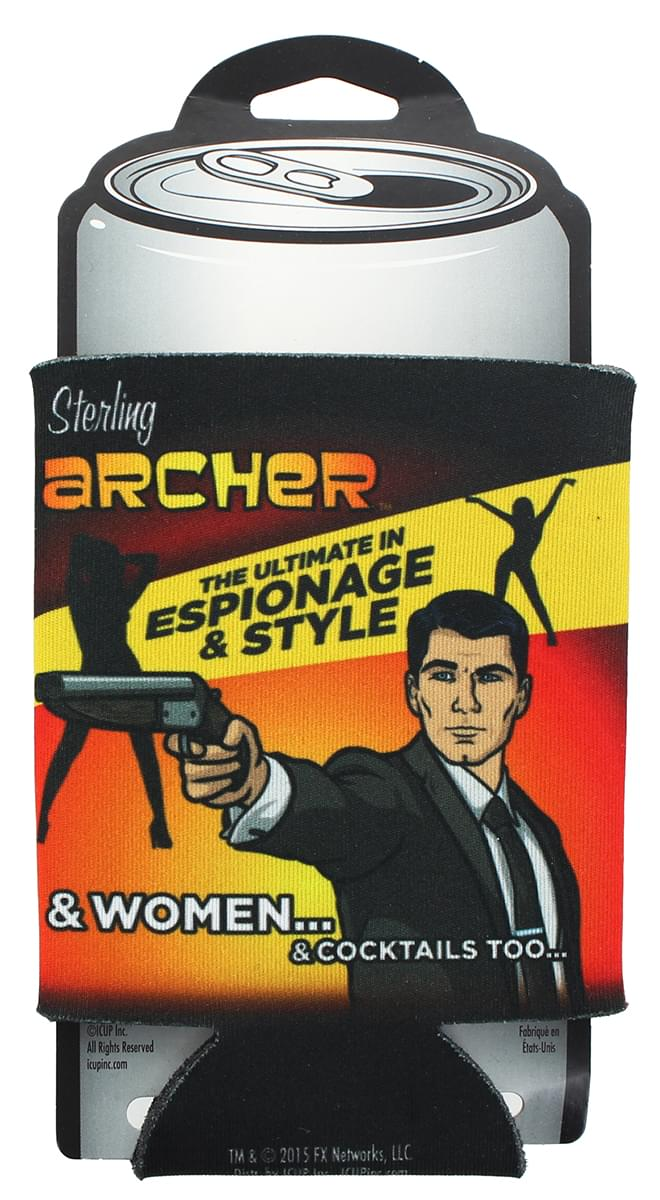 "Archer ""Ultimate In Espionage"" Can Cooler"