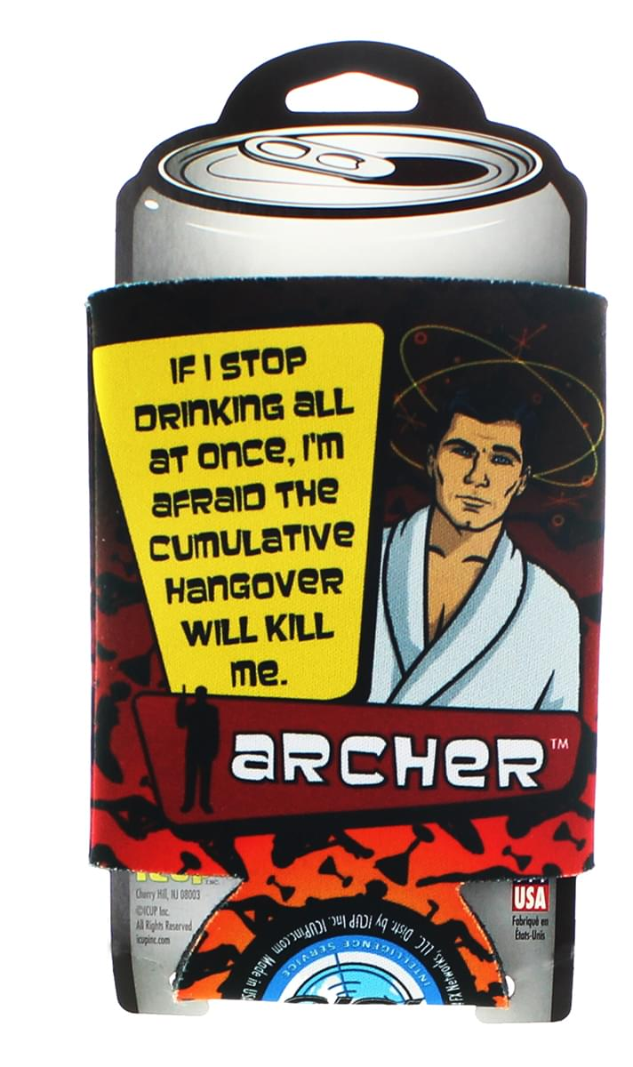 "Archer ""If I Stop Drinking"" Can Cooler"