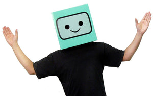 Adventure Time Beemo Costume Box Head