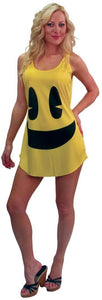 Pac-Man Deluxe Costume Tank Costume Dress Adult/Teen Standard