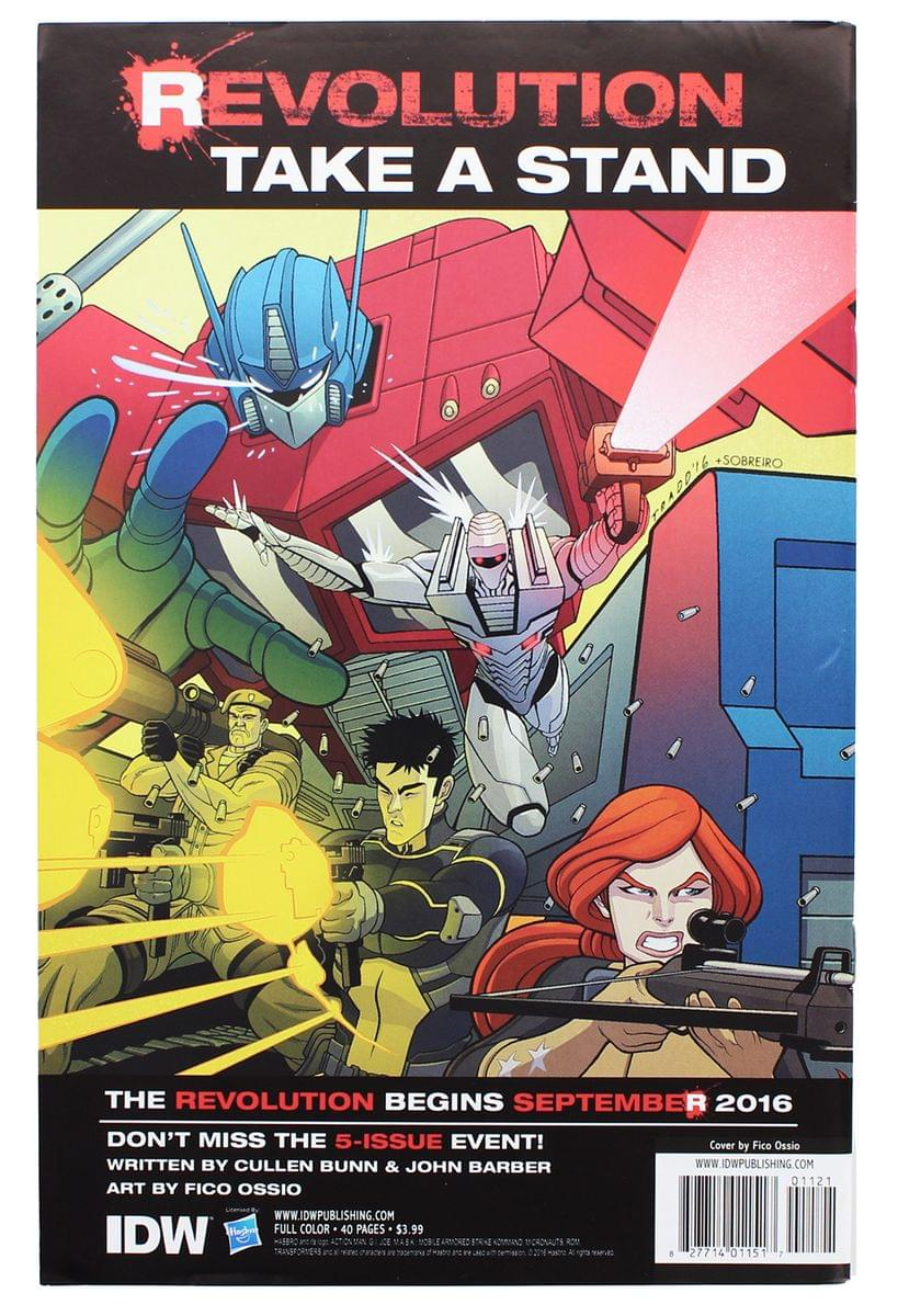 IDW Revolution Issue #1 (NYCC Exclusive Cover)
