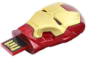 Iron Man 3 Helmet Light Up Flash Drive USB 8 GB