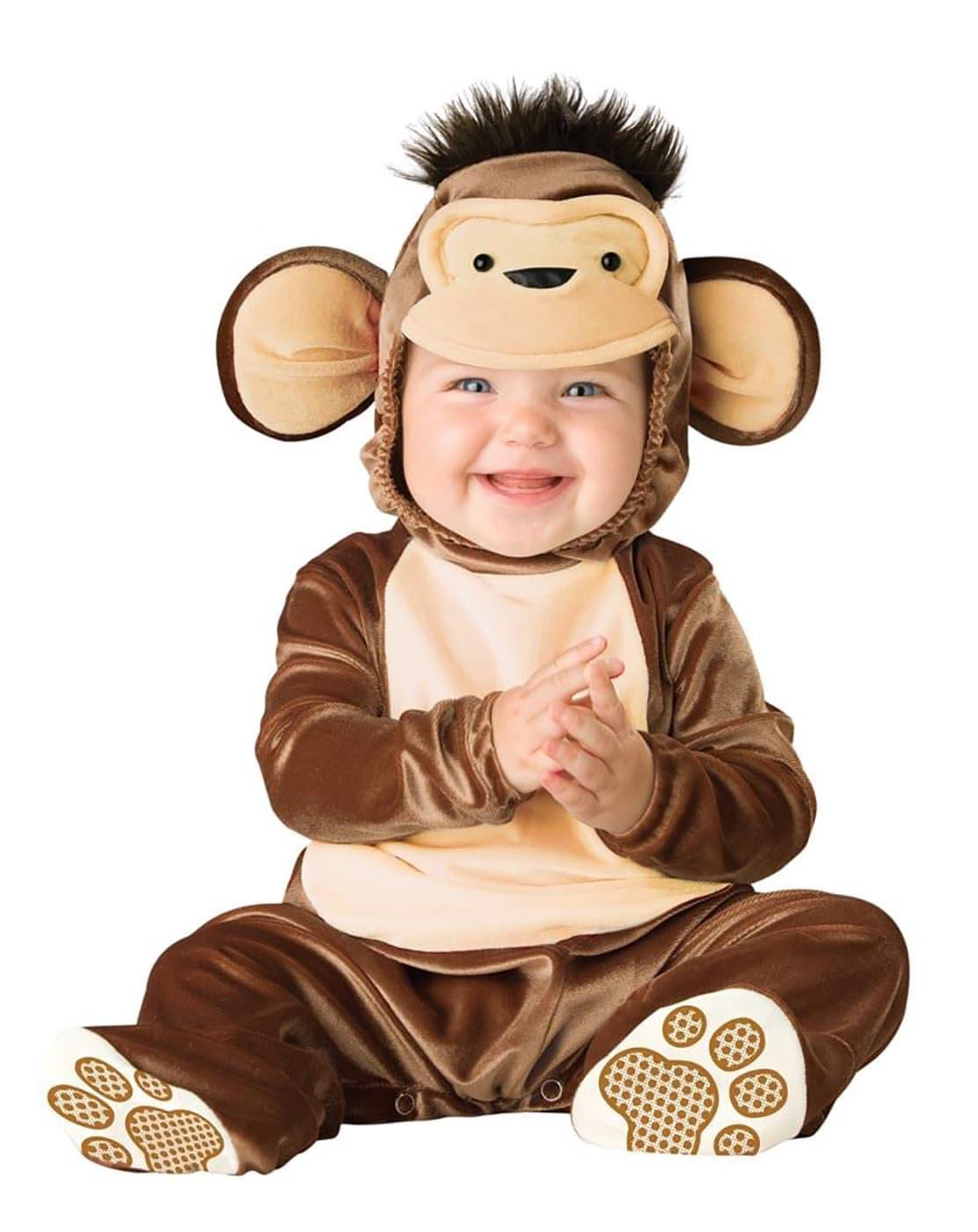 Mischievous Monkey Designer Baby Costume Medium 12-18 Months