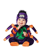 Load image into Gallery viewer, Itsy Bitsy Spider Infant Costume 0-6 Months