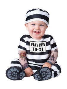 Time Out Prisoner Deluxe Infant Toddler Costume