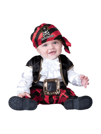 Captain Stinker Pirate Deluxe Infant Toddler Costume