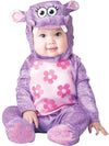 Huggable Hippo Costume Child Infant: Purple 0-6 Months