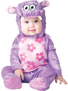 Huggable Hippo Costume Child Infant: Purple