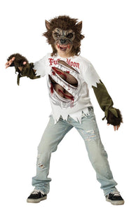 Werewolf Boy Designer Costume Child