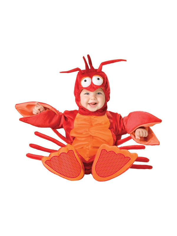Lil Red Lobster Jumpsuit Designer Costume Child Toddler