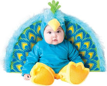 Load image into Gallery viewer, Precious Peacock Infant Toddler Costume