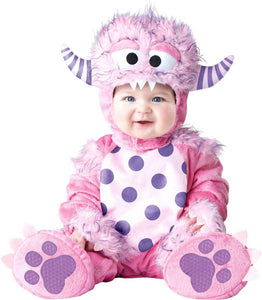 Lil' Pink Monster Baby Toddler Costume