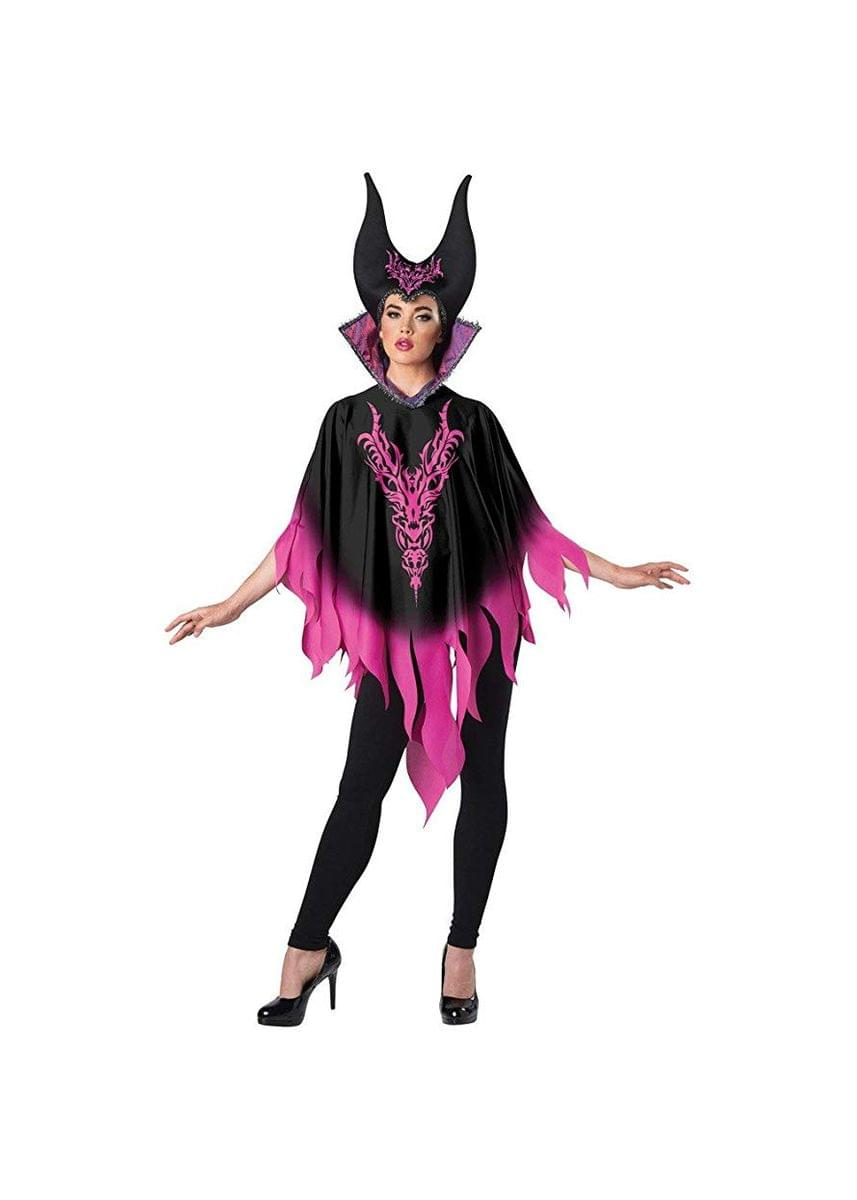 Dark Sorceress Adult Costume Poncho