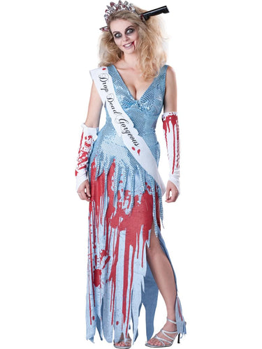 Drop Dead Gorgeous Pageant Dress Deluxe Adult Costume