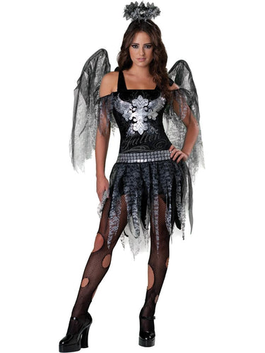 Dark Angel Deluxe Teen Costume