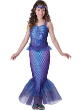Load image into Gallery viewer, Mysterious Mermaid Deluxe Tween Costume Small 8-10