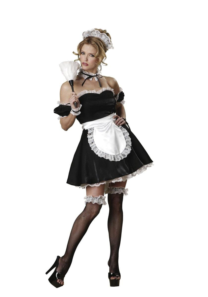 Oui Oui Sexy Maid Adult Costume