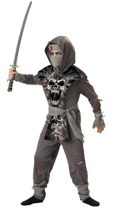 Zombie Ninja Warrior Tunic & Pants Designer Costume Child