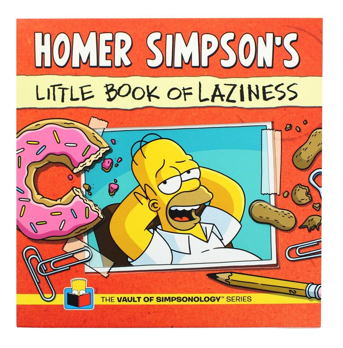 The Simpsons Homer's Little Book of Laziness (Vault of Simpsonology Series)