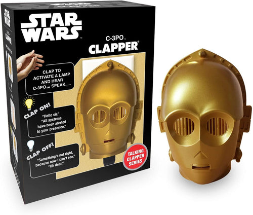 Star Wars C-3PO Talking Clapper Sound Activated Switch