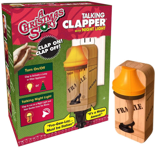 A Christmas Story Leg Lamp Talking Clapper Sound Activated Switch