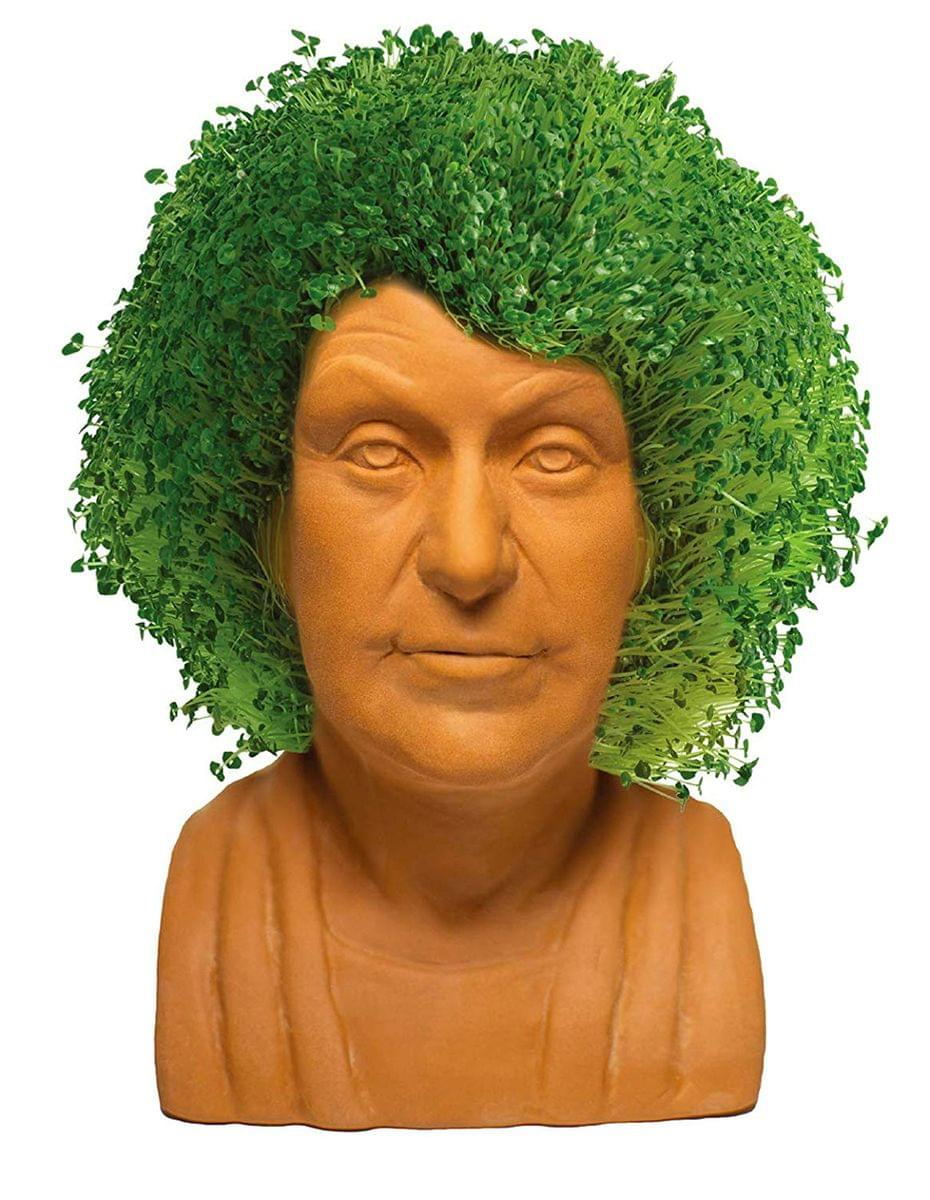 Golden Girls Chia Pet Dorothy Decorative Pottery Planter