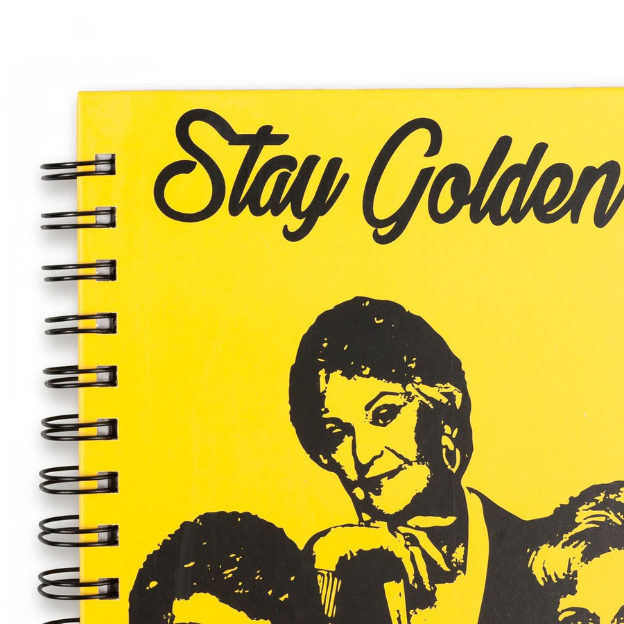 "Golden Girls ""Stay Golden"" Spiral Notebook 