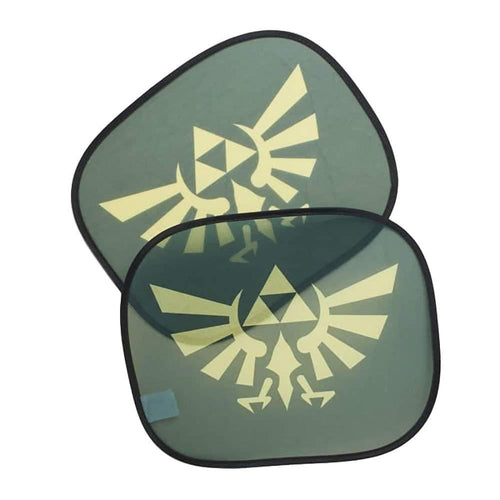 The Legend of Zelda Car Auto Sunshades | Licensed Nintendo Car Accessory