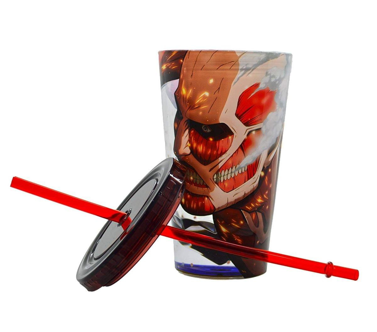 Colossus Attack On Titan Travel Cup