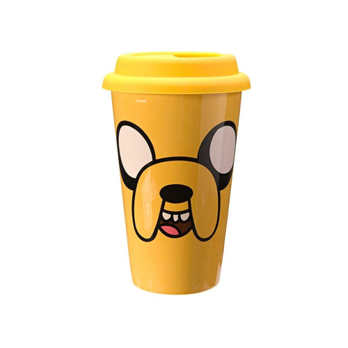 Adventure Time Jake 16oz Ceramic Travel Mug