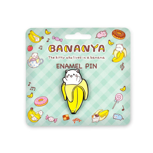 OFFICIAL Bananya - The Kitty Who Lives in a Banana | Sweet Enamel Collector Pin