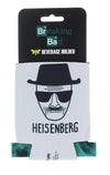Breaking Bad Heisenberg Bundle: Mug, Air Freshener, Pint Glass, Koozie