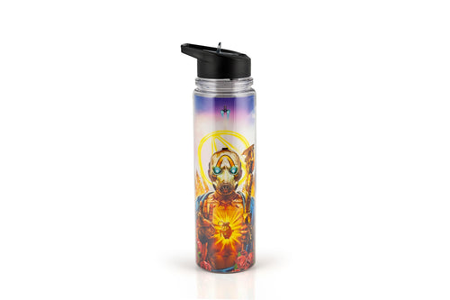 Borderlands 3 Psycho Bandit Double Walled Plastic Water Bottle | Holds 17 Ounces