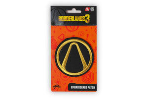Borderlands Vault Symbol 3 Inch Embroidered Patch