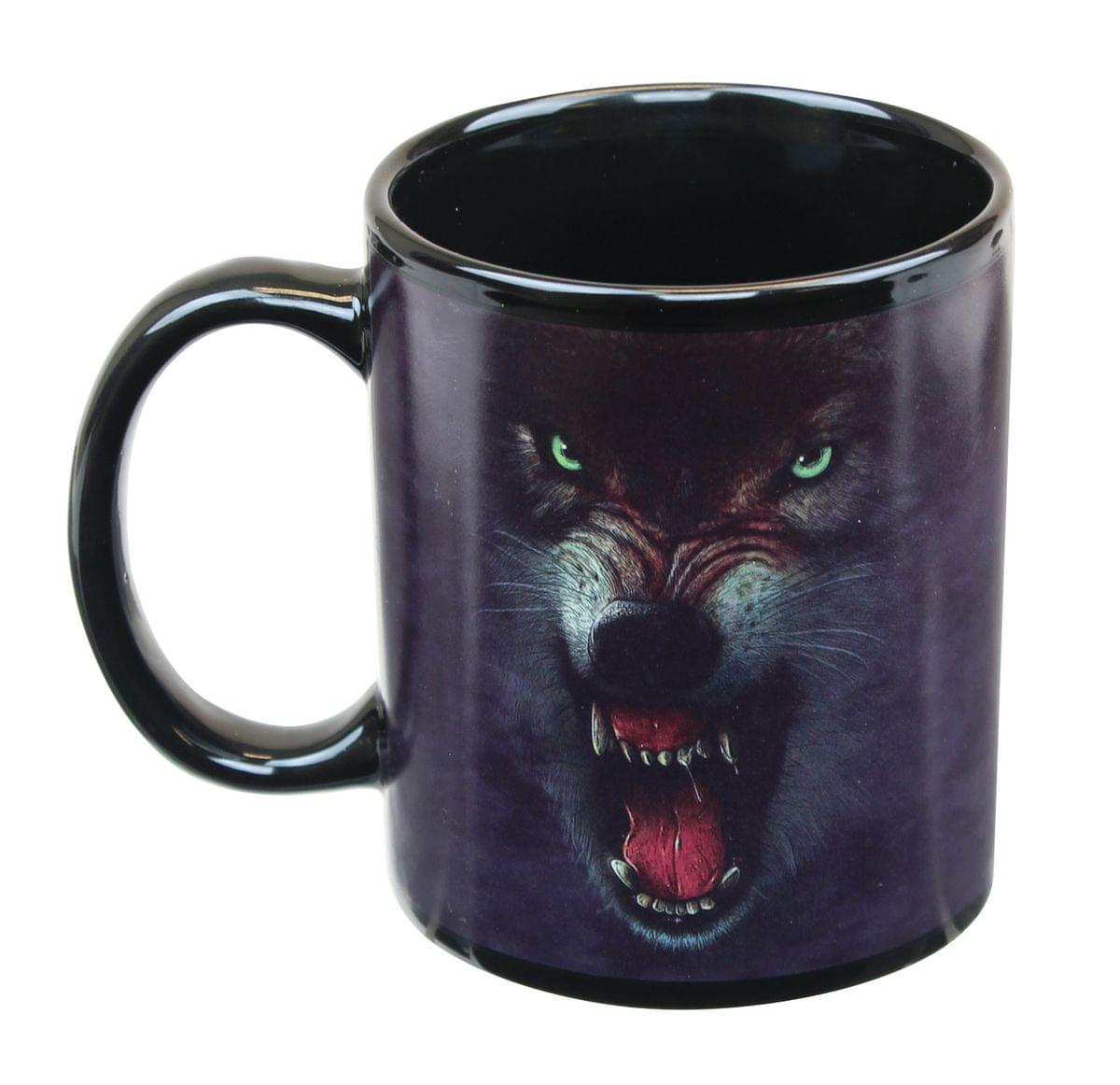 Growling Wolf 11oz Coffee Mug